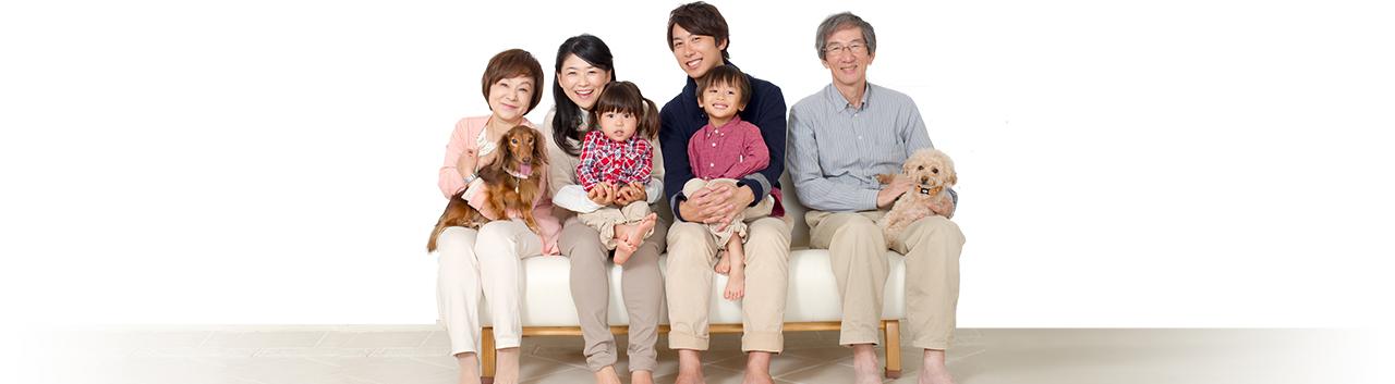 家族とペット