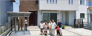 栃木県 二世帯住宅の家
