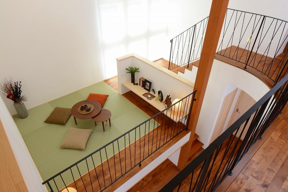 中二階にタタミパーク_住宅展示場