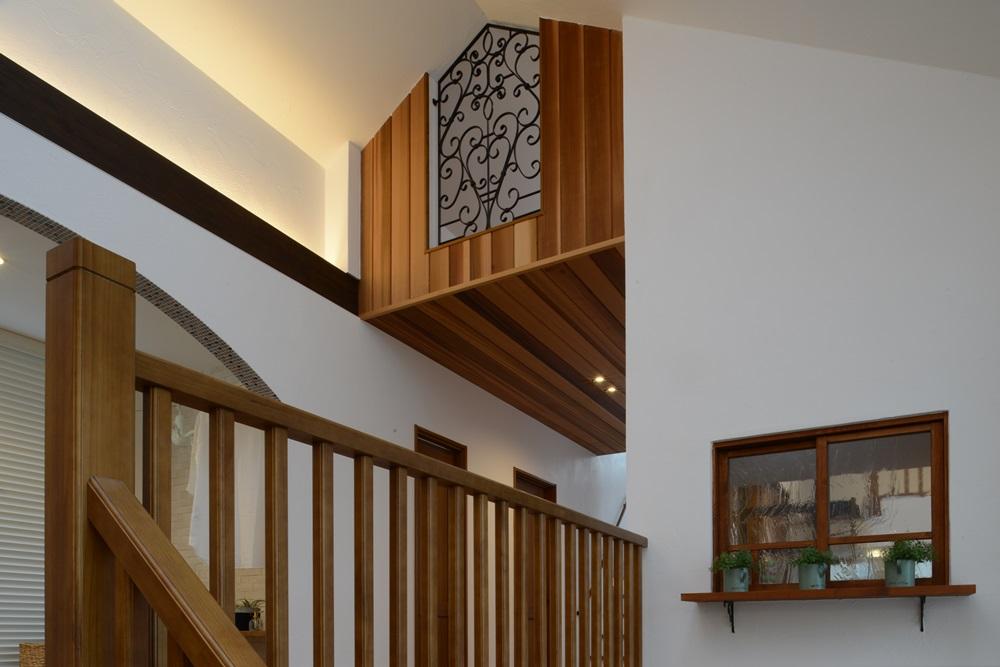 2階階段上の風景