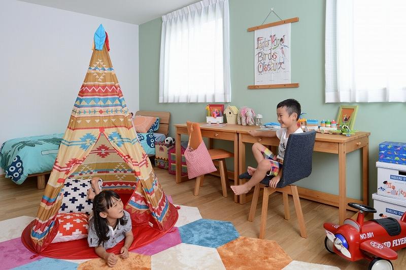 巣立つ子供部屋