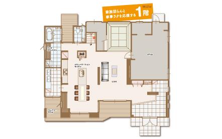 鶴ヶ島展示場1階