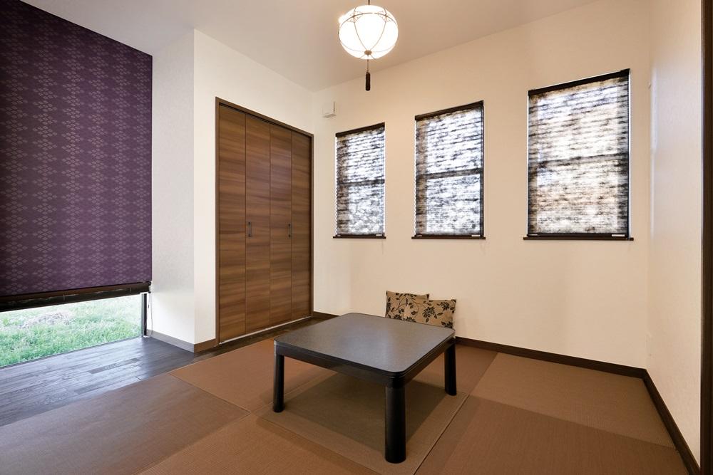 群馬県_藤岡市_建築実例_現代的な和室